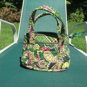 Mini Vera Bradley paisley purse tote